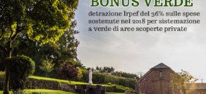 Bonus verde 2018: chiarimenti delle Entrate